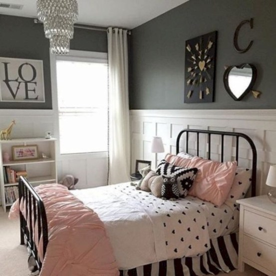 Easy and clever teen bedroom makeover ideas 28
