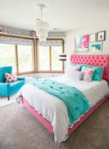 Easy and clever teen bedroom makeover ideas 32