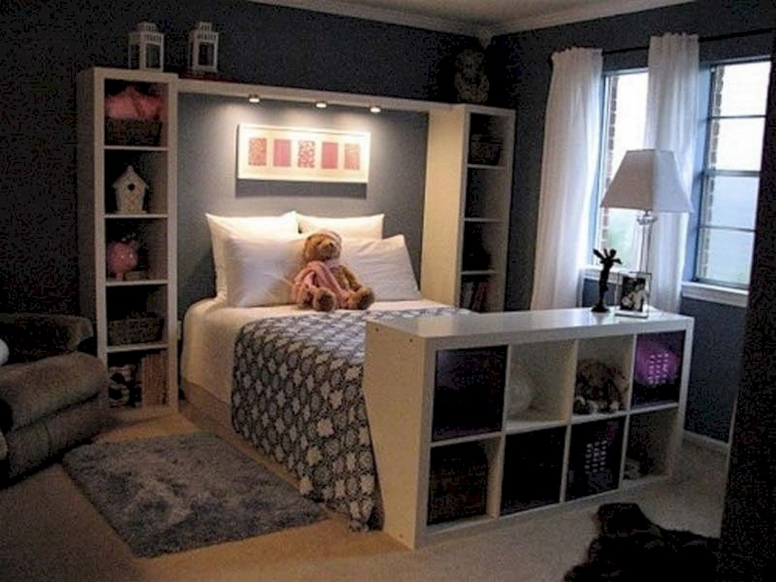 Easy and clever teen bedroom makeover ideas 36