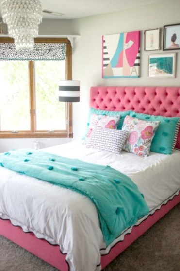 Easy and clever teen bedroom makeover ideas 37