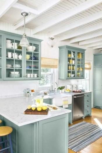 Fabulous small kitchen ideas with farmhouse style 25