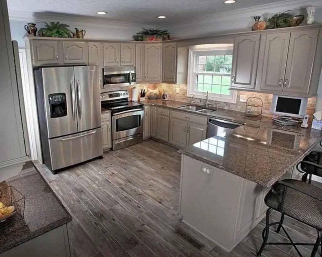 Fabulous small kitchen ideas with farmhouse style 36