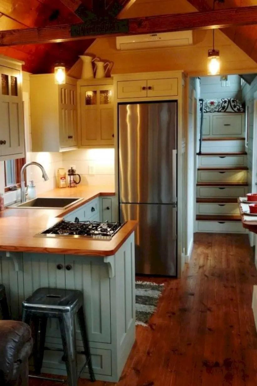 Fabulous small kitchen ideas with farmhouse style 38