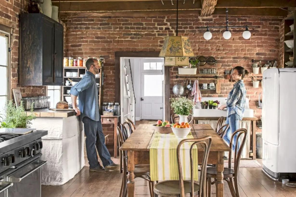 47 Fabulous Small Kitchen Ideas With Farmhouse Style