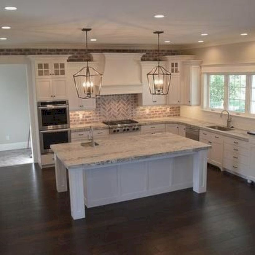Fabulous small kitchen ideas with farmhouse style 47