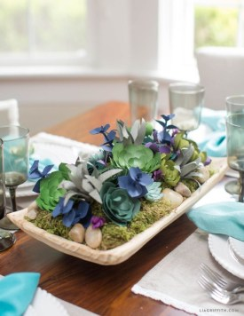 Faux cactus and succulent projects and ideas to decorate your home 02