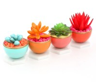 Faux cactus and succulent projects and ideas to decorate your home 05