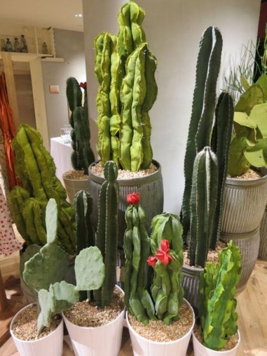 Faux cactus and succulent projects and ideas to decorate your home 13