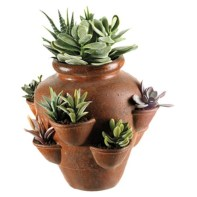 Faux cactus and succulent projects and ideas to decorate your home 17