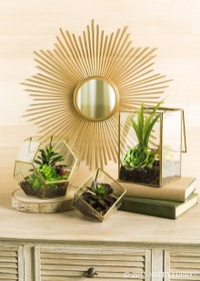 Faux cactus and succulent projects and ideas to decorate your home 23