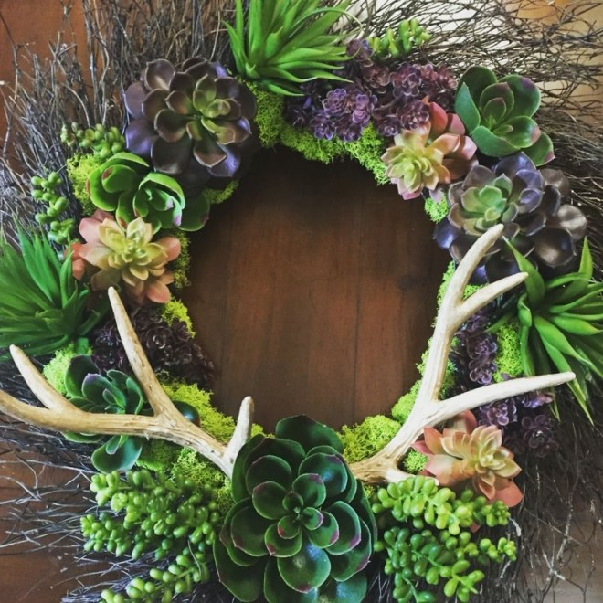 Faux cactus and succulent projects and ideas to decorate your home 34
