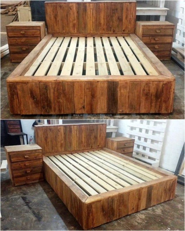 Furniture pallet projects you can diy for your home 07