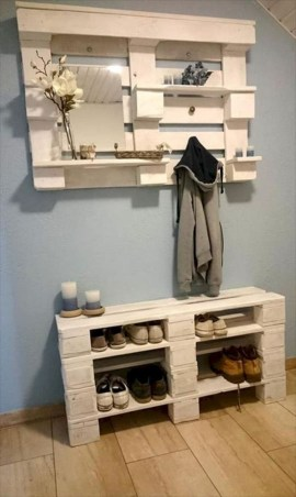 Furniture pallet projects you can diy for your home 33