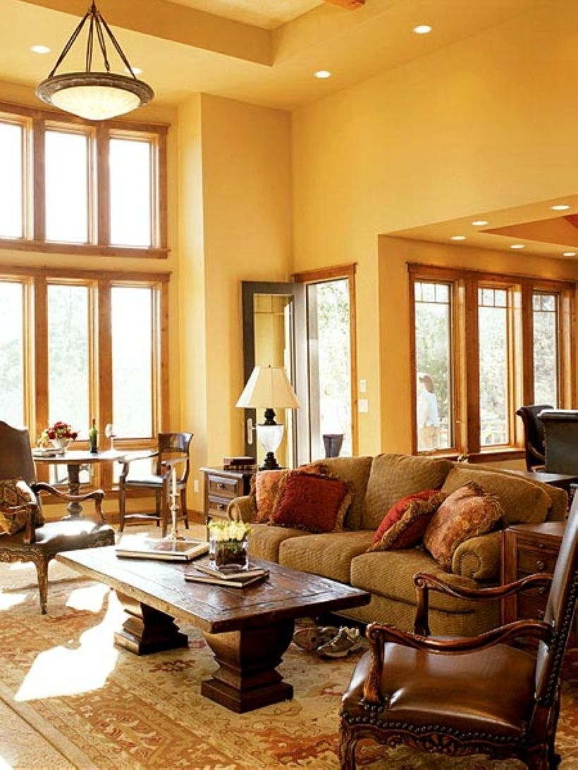 High ceilings accent wall with traditional and classic look 03