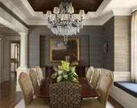High ceilings accent wall with traditional and classic look 05