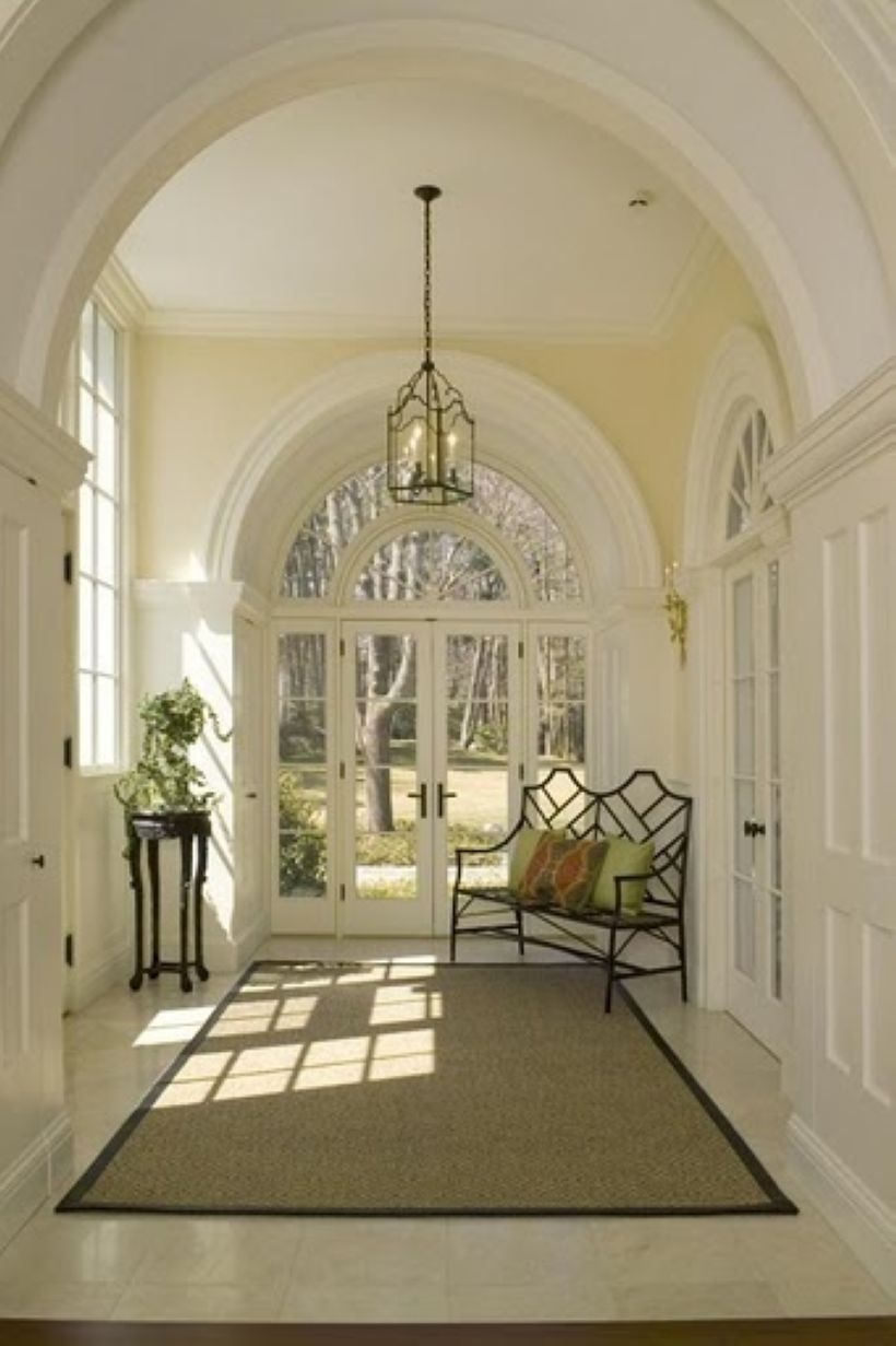 High ceilings accent wall with traditional and classic look 27