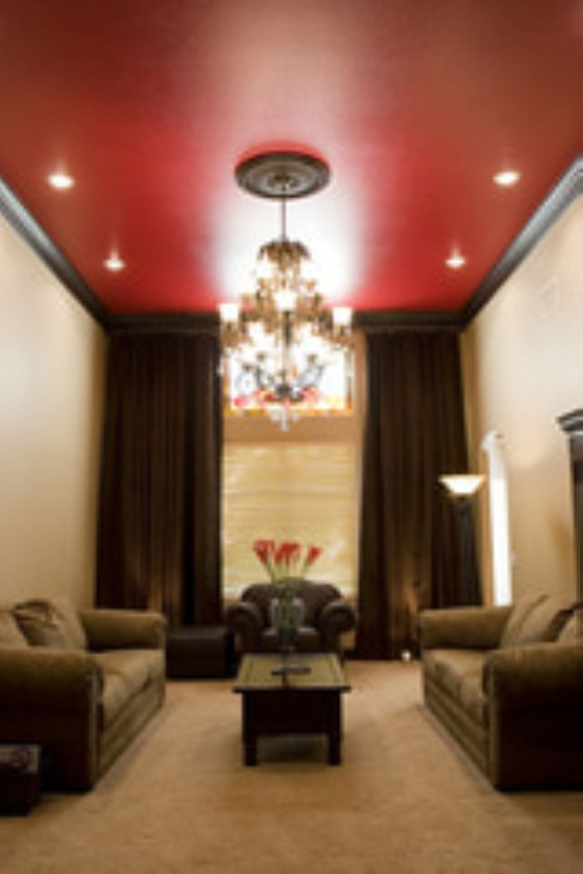 High ceilings accent wall with traditional and classic look 41