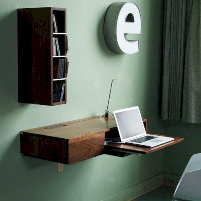 Neat and clean minimalist workspace design ideas for your home 08