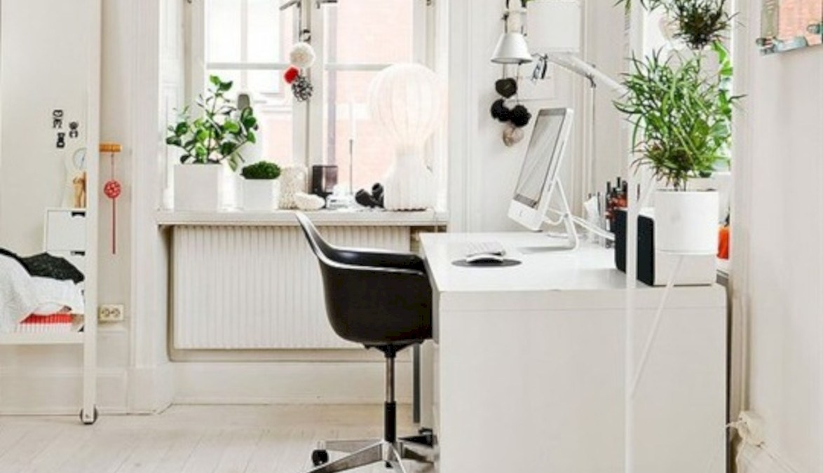 38 Neat and Clean Minimalist Workspace Design Ideas for Your Home