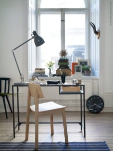 Neat and clean minimalist workspace design ideas for your home 36