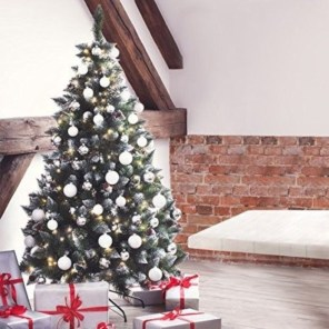 Non-traditional christmas tree to give to your home 03
