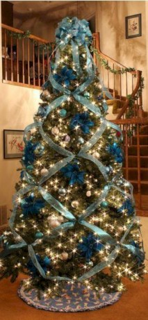 Non-traditional christmas tree to give to your home 16