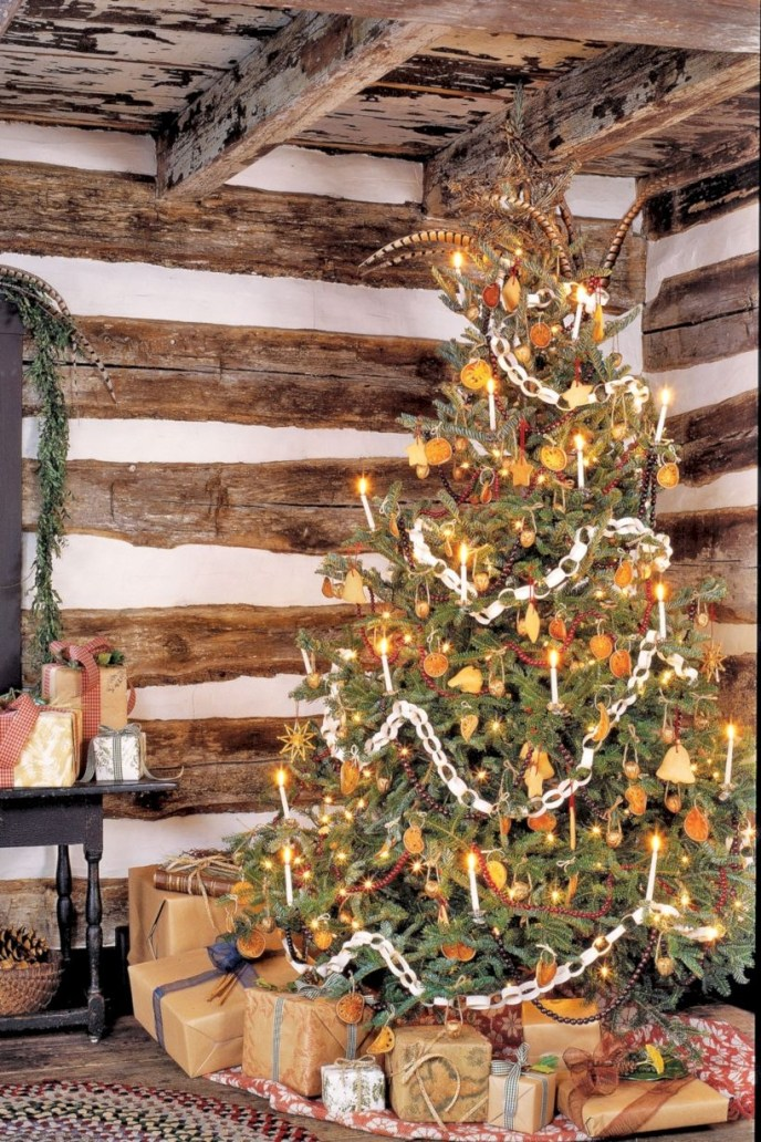 Non-traditional christmas tree to give to your home 18