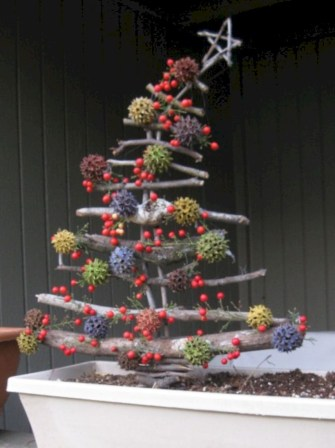 Non-traditional christmas tree to give to your home 36