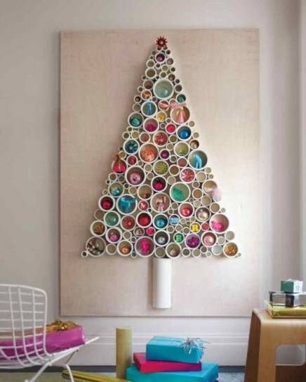 Non-traditional christmas tree to give to your home 38