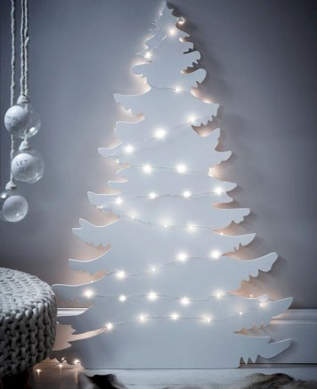 Non-traditional christmas tree to give to your home 39