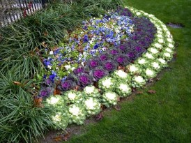 Outdoor garden decor landscaping flower beds ideas 13