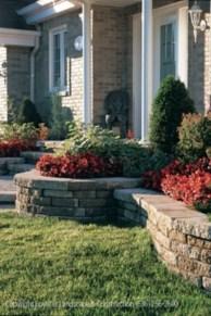 Outdoor garden decor landscaping flower beds ideas 25