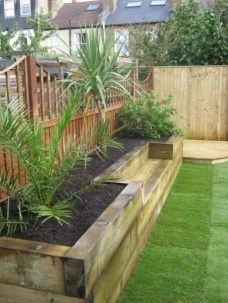 Outdoor garden decor landscaping flower beds ideas 40