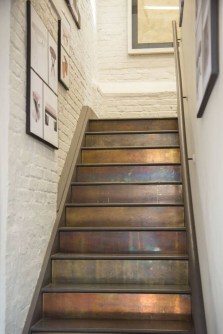 Painted staircase ideas which make your stairs look new 06