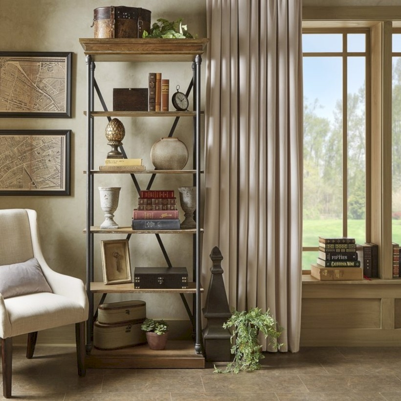 Pieces to create a stylish bookcase instantly 16