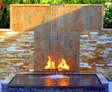 Pool waterfalls ideas for your outdoor space 01