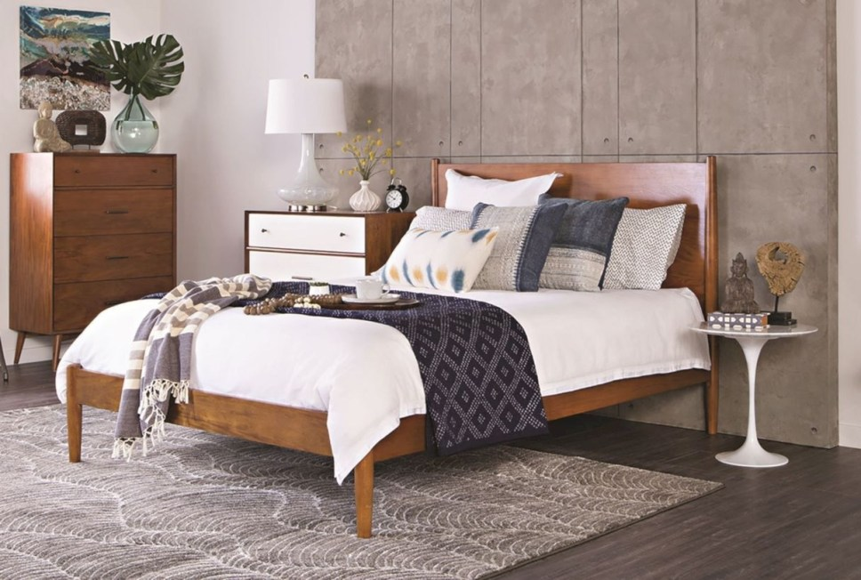 Raised platform bed to define your sleep space easily 05
