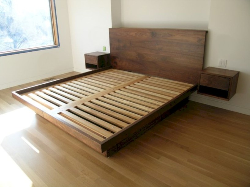 Raised platform bed to define your sleep space easily 11