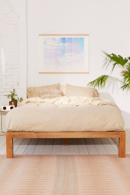 Raised platform bed to define your sleep space easily 12
