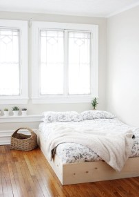 Raised platform bed to define your sleep space easily 16