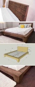 Raised platform bed to define your sleep space easily 17