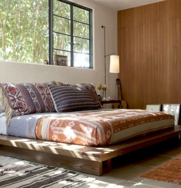 Raised platform bed to define your sleep space easily 19