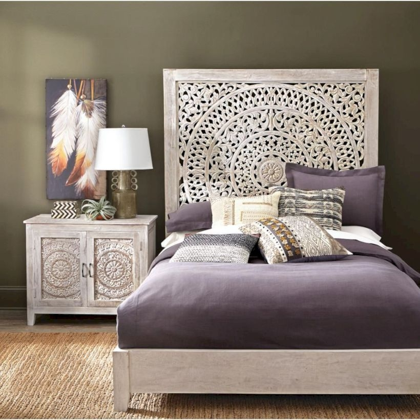 Raised platform bed to define your sleep space easily 33