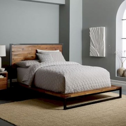 Raised platform bed to define your sleep space easily 34