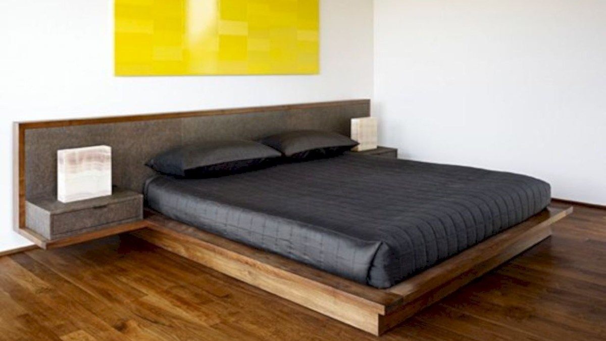 Raised platform bed to define your sleep space easily 35
