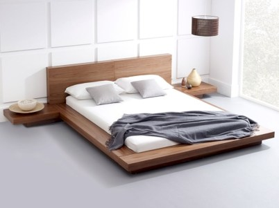 Raised platform bed to define your sleep space easily 38
