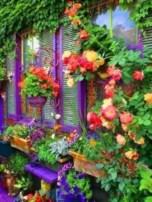 Shabby chic and bohemian garden ideas 04