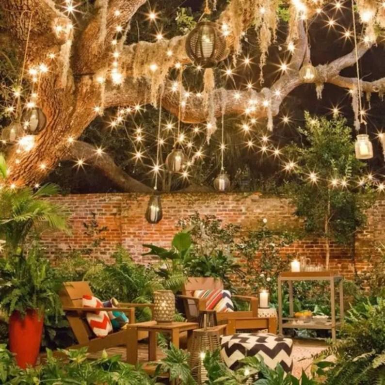 Shabby chic and bohemian garden ideas 34