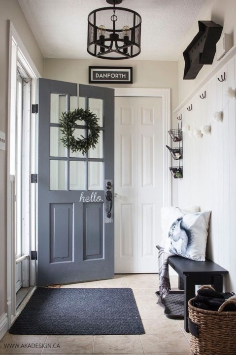 Simple and elegant entry way to inspire you 01