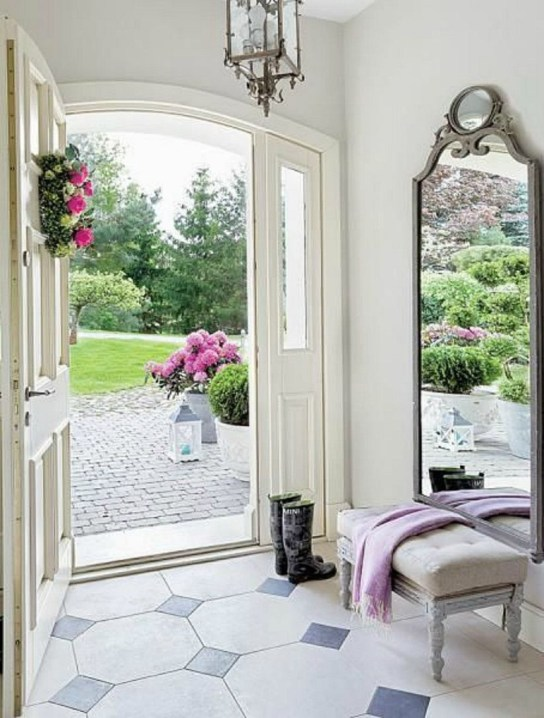 Simple and elegant entry way to inspire you 03